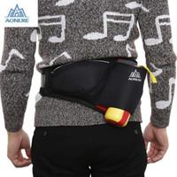 Wholesale water bottle bag belt resale online - AONIJIE Unisex Running Waist Pack Cycling Bag Belt with Water Bottle Pocket L large capacity bag