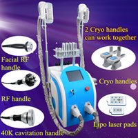Wholesale used free weights for sale - cryolipolysis fat freezing Cryotherapy Ultrasound RF Liposuction weight loss slimming machine cellulite removal home use