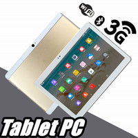 Wholesale 10 inch tablet online - 2018 High quality inch MTK6572 MTK6582 IPS capacitive touch screen dual sim G tablet phone pc quot android Octa Core GB GB G PB