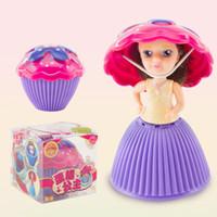 caixa de bonecas barbies venda por atacado-Alta qualidade Queque Scented Princesa Boneca Bolo Reversível 12 Papéis Debbie Kaelyn Jennie com 6 Sabores Brinquedos Mágicos para Meninas oth262
