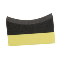 Wholesale tire cleaning for sale - Group buy 1 Car Professional Tyre Tire Dressing Applicator Curved Foam Sponge Pad Car Cleaning Tool
