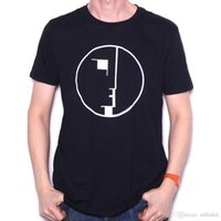 Wholesale punk clothing patterns for sale - Group buy Casual T Shirt Male Pattern Bauhaus T Shirt Logo Official Goth Glam New Wave Punk T Shirt Hip Hop Casual Clothing