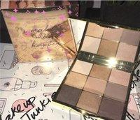 maquillaje de sombra de ojos mágico al por mayor-(en stock) nuevo llega maquillaje Make Magic Happen Eyeshadow Platte de alta calidad 9 colores Eyeshadow dhl envío gratis + regalo