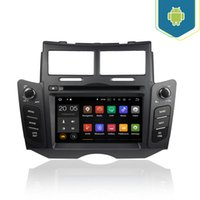 Wholesale Car Dash Camera India - Android 6.0 7.1 4+32GB Car DVD Player GPS Navigation for Toyota Yaris 2005 2006 2007 2008 2009 2010 2011 with Radio BT USB AUX Camera Map