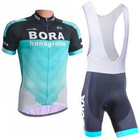 Wholesale 2018 Bora new cycling jersey D gel pad bike shorts Ropa Ciclismo quick dry team bicycling wear mens summer bicycle Maillot Suit