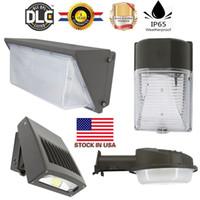 Wholesale Led Wall Light Kit - Wall pack led lighting 20W 30W 50W 80W 100W 120W led retrofit kits wall pack light fixtures led shoebox light + Stock In USA