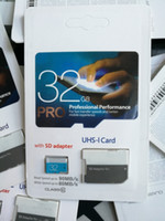 Wholesale pro digital cameras - 80 pcs 2018 New arrival 32GB 64GB 128GB micro card Pro Class10 UHS-1 MicroSDXC TF Card for Tablet PC Digital Camera Smart Phones