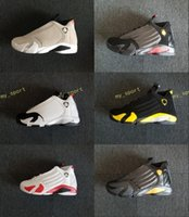 Wholesale 14 boot for sale - 2018 XIV DESERT SAND men basketball shoes s BRED LAST SHOT Black Toe Candy Cane Sports Shoes sneakers women boots Athletics shoe