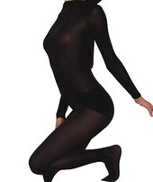 mujeres zentai al por mayor-Body de piel sexy a través del segundo traje de piel Zentai Unitard Body de mujer