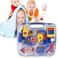 doctor de juguete al por mayor-Niños Juego educativo de juguetes para niños y adolescentes Juego médico para niños Funda médico para niños y niños Juego de juguetes