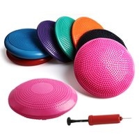 Wholesale stability exercises for sale - Stability Balance Disk Inflated Stability Wobble Cushion Including Free Pump Exercise Fitness Core Balance Disc for Kids and Women Yoga