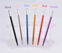 Wholesale hit tools - Slim Manual Tattooing Pen Color Contacts Tool Eyebrow microblading Pencil Small hit fog and Permenent Makeup Machines 10PCS WM-007