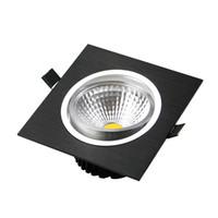 luz led empotrada en el techo regulable al por mayor-CE ROHS UL 3 pulgadas 12W llevó la lámpara de techo Downlights 160 ángulos 900 lúmenes cálido / frío blanco regulable Led empotrado lámpara AC110-240V
