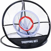 aides à la pratique du golf achat en gros de-PGM en plein air Golf Chipping Practice Net Golf Pop UP Intérieur Chipping Extérieure Pitching Cages Formation Frapper Outil Portable