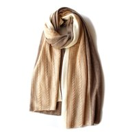 Wholesale Stylish Pashmina - A stylish new cashmere knitwear scarf a woman's winter warmth can be used as a blanket scarf.