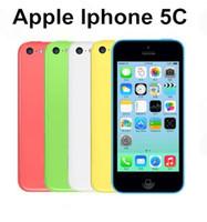 Wholesale unlock iphone 5c ios resale online - Original iPhone C Mobile Phone Dual Core quot MP WIFI GPS G iPhone C Unlocked refurbished Cellphone
