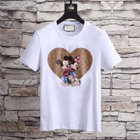 ingrosso t-shirt pipistrelli-18ss Eye T-Shirt Ultimi G Fashion Casual uomo T-Shirt da uomo manica corta O-Head Medusa Bat Tiger T-Shirt Giacca camicia 3Xl