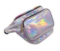 модная грудь оптовых-Новая сумка собрания сотового телефона лазера модный наклоненный мешок груди