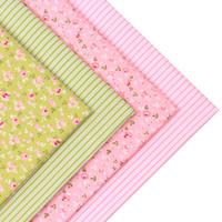 kissen puppe stoff großhandel-2pic / lot 40x50cm Baumwollgewebe für Nähen Tischdecke Patchwork Tissue Kissen Baby Kleid Bettwäsche tecidos DIY Puppe Stoff Stoffe