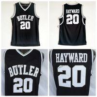 a4332d8b2fab Mens Butler Bulldogs  20 Gordon Hayward College Basketball Jerseys Cheap  Vintage Gordon Hayward Home Black Stitched Basketball Shirts S-XXL