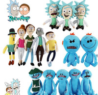 Wholesale video decoration - 17-30cm Rick and Morty plush toys Rick Mr. Meeseeks Stuffed Plush Doll Toys toys for Home Decoration KKA3625