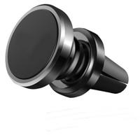 ingrosso scatola magnetica dell'automobile-Supporto magnetico universale del supporto del telefono cellulare del supporto dell'automobile per iPhone 7 più 6s 8 con l'alta qualità della scatola al minuto