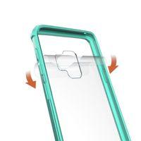 ingrosso telefono delle batterie 12v-Articoli all'ingrosso per Samsung S9 Custodia Trasparente Hybrid TPU paraurti posteriore Custodia Cover per Samsung S9 S9 plus