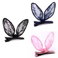 Wholesale lace butterfly hair accessories - Fashion Korean Women 1 Pcs Hair Accessory Floral Lace Butterfly Hair Barrette Clip Lady Hairpin Hairband #277174