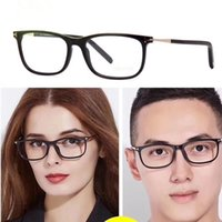 Wholesale Import Case - NEW arrival T5398 lightweight frame unisex small square prescription glasses ltaly-imported pure-plank with original case OEM factory price
