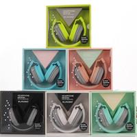 kulaklıklar kulaklıklar rengi toptan satış-Yeni EV-90 Sevimli Kulaklıklar Şeker Renk Katlanabilir Çocuklar Kulaklık Mp3 çalar Smartphone için Mic ile Kız Kulaklık Kız Çoc ...