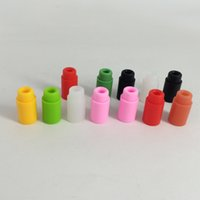 Wholesale P Test - 510 disposable drip tip cap atomizer cap mouthpiece Silicone Mouthpiece Cover Rubber Drip Tip Silicon Test Tips Cap P CCELL g2 92a3