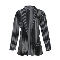официальная одежда для женщин оптовых-Women Autumn Slim Fit Formal Jackets Ladies Office Work Clothes Front Notched Ladies Blazer Coat Fashion Casual Blazers