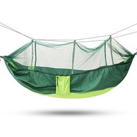 Discount portable mosquito net tent - SGODDE Portable Outdoor Travel Camping Tent Folding Hammock Bed Mosquito Net Nylon 210T Fabric For Travel Kits Camping Hot Sale