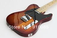 ingrosso trasporto libero per le chitarre-Spedizione gratuita CALDO! Alta qualità chitarra elettrica standard Telecaster Ameican in stock