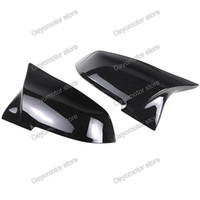 Wholesale rear view mirror replacement - Gloss Black for BMW 1 2 3 4 X Series F20 F21 F22 F30 F31 F32 F33 F36 X1 E84 M3 M4 Look Mirror Rear View Replacement Cover