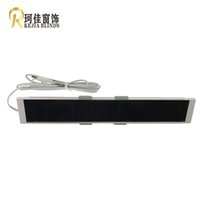 Wholesale French Board - Free Shipping New Arrival Cost-effective Long strip DC1288 12V Rechargeable Solar Board Service Life 10 Years Up&Down 300 times