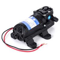 micro pompes 12v achat en gros de-Pompe à eau électrique agricole durable de CC 12V 70 PSI Pompes à eau à haute pression micro à diaphragme noire de Mayitr 3,5L / min