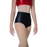 pantalon de danse en nylon achat en gros de-Dancer Shorts Femmes Polonais Dancing Shorts Lycra Noir Nylon Hot Pantalon Yoga Roller Derby Beach Dancewear