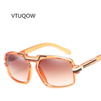 069aa660a8 Fashion Square Sunglass Men Women Brand Design Big Frame Sunglasses For Men  Women Retro Mirror Eyewear Oculos UV400 2018 Unisex