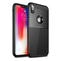 Wholesale ipaky back case for iphone for sale - Group buy iPaky Case For iphone Xs Max XR Armor Back Cover PC TPU Hard Soft Cases With Package