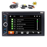 Wholesale music videos mp3 player for sale - Group buy 6 quot Double DIN Car headunit Electronics car DVD P Video music Player Bluetooth GPS Navigation Car Stereo Radio PC Wireless Back Camera