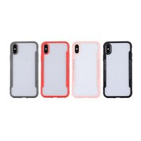 Wholesale cradle designs - Newest Arrival Soft Clear Cases For IPhone X 8 7Plus 6S Anti Shock For Galaxy Note 8 S9 Plus S8 Cradle Design 2018