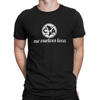 karakter mayo toptan satış-Club America De Meksika Camiseta Jersey Tişörtleri Aile Bahar Zeki Karakter erkek Tshirt Mizah Çılgın Temel Katı O-Boyun