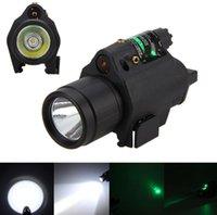 ingrosso punti luce laser per pistole-Nuova torcia a luce laser verde rossa per torcia a LED con torcia elettrica per torcia standard