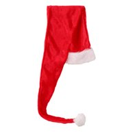 Wholesale costumes for pirates online - Santa Hat Flush Funny Novelty Hat Christmas Xmas Headdress Party Favors Costume Accessory Photo Prop For Children Kids