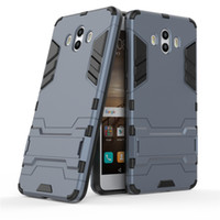 Wholesale case mobile huawei online - For Huawei Mate X Pro Lite Case Mobile phone Cover Slim Armor Case Hybrid Combo Cover Luxury in Anti Shock Iron man