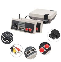 Wholesale Video Games Play - Mini TV Video Game Console for NES 620, Play Console with Retail Boxes, Hot Sale PAL&NTSC Dual Gamepad, Fast Shipping