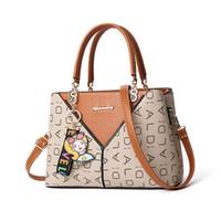 Wholesale hand bag flowers lady for sale - Handbags Women Bags Designer Fashion Casual Tote Bag Double Color Ladies Hand Bags Women Messenger Bag