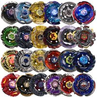 Wholesale pc games children - Original Package 1 PCS Beyblade White Launcher Metal Fusion 4D Launcher Beyblade Spinning Top Kids Game Toys Children Christmas Toys Gift