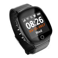 vieilles montres achat en gros de-Old Man SOS Bébé Suivi Montres Enfants Smart Watch Enfants Écran Tactile GPS WIFI Positionnement Carte SIM Montres Intelligents Smartwatch